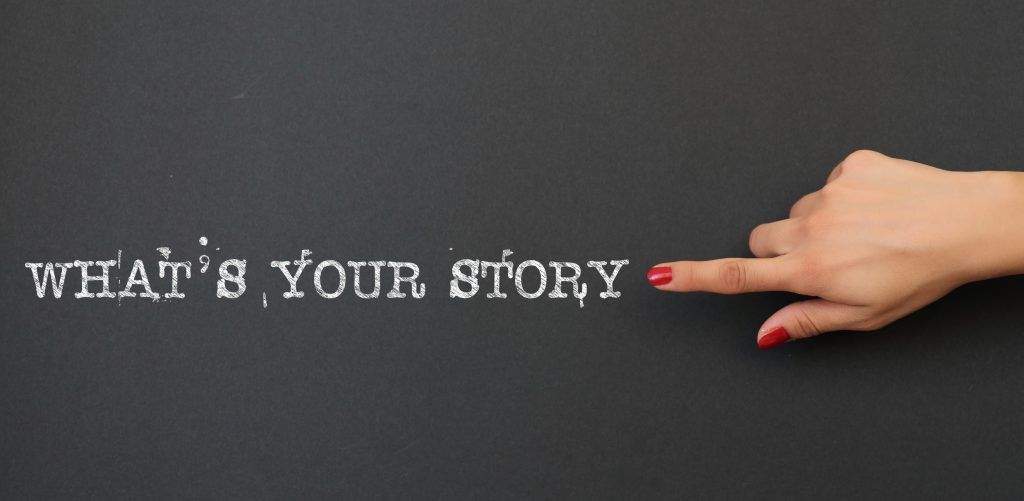 how to tell your story to attract clients