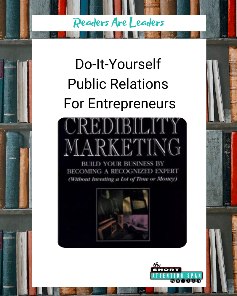Do-It-Yourself Public Relations For Entrepreneurs