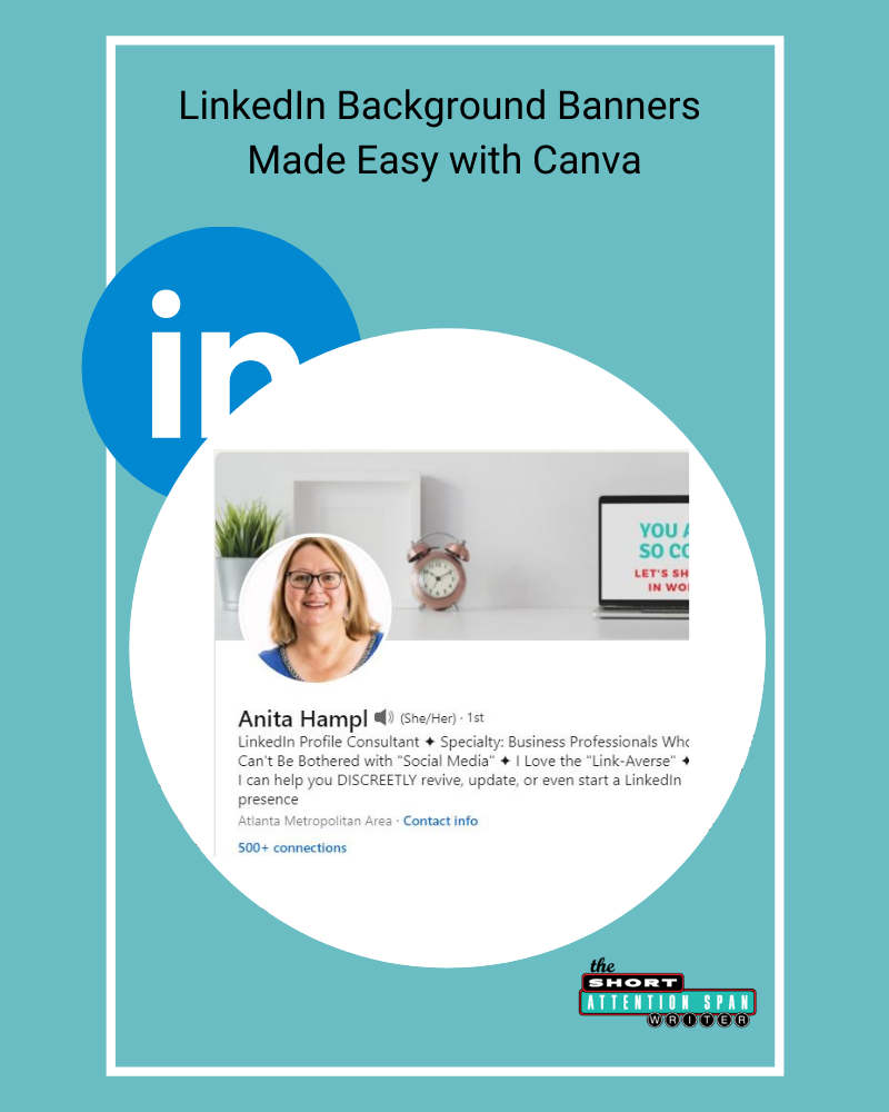 LinkedIn Background Banners: How to Use Canva to Make It Easy